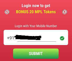 mpl submit number