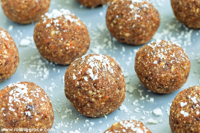 Chia Seeds energy balls