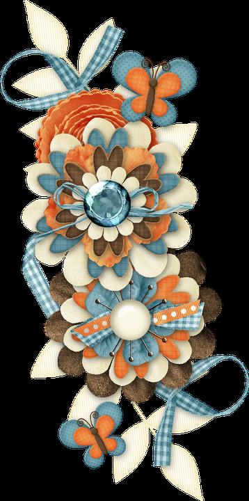 Turquoise Flower clipart  29 Turquoise Flower clip art