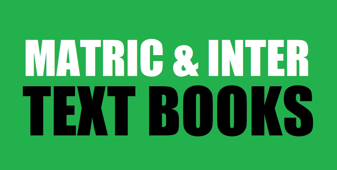 Matric and Inter Text Books of All Subjects (Pdf Format) - taleem360.com