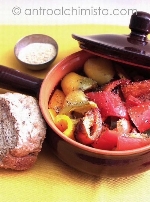Peperoni Grigliati in Agrodolce