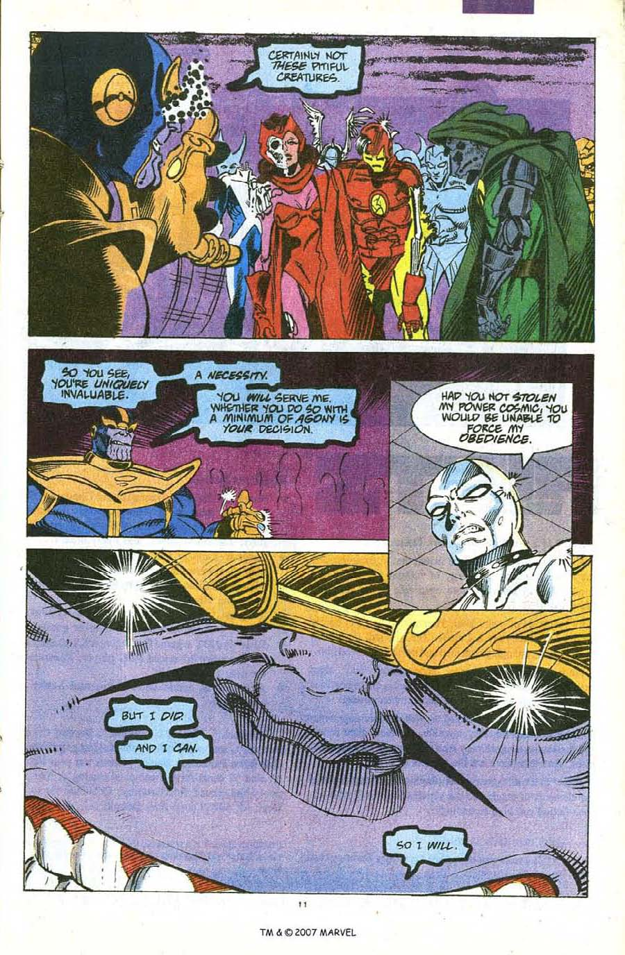 Read online Silver Surfer (1987) comic -  Issue #56 - 13