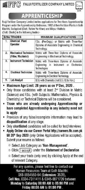 fauji-fertilizer-company-jobs-2020-apply-online
