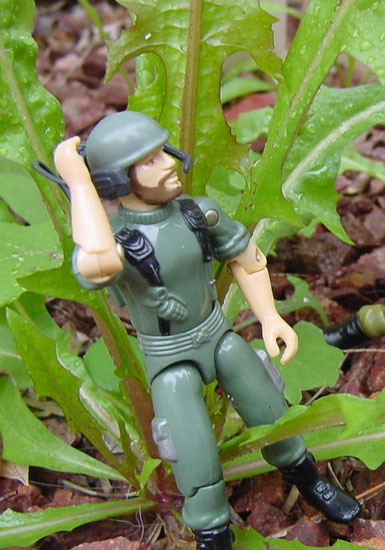 1983 Breaker, Hasbro, Communciations Trooper, 1982, Original 13, G.I. Joe Figure