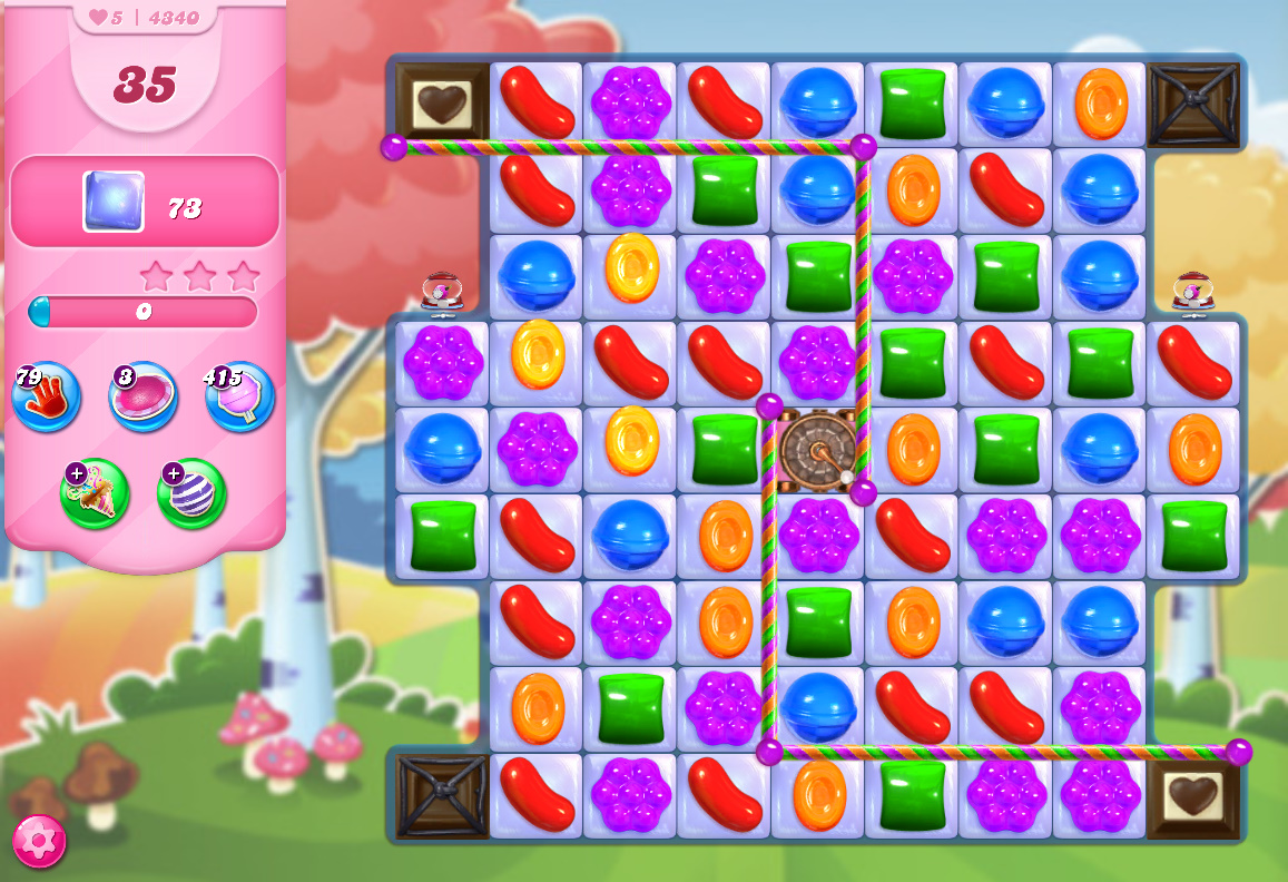 Candy Crush Saga level 4340