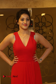 Mouryani Stills in Red Dress at Intlo Deyyam Nakem Bhayam Trailer Launch ~ Bollywood and South Indian Cinema Actress Exclusive Picture Galleries
