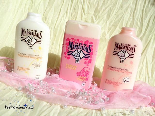 Pielęgnująca kąpiel z kosmetykami Le Petit Marseillais