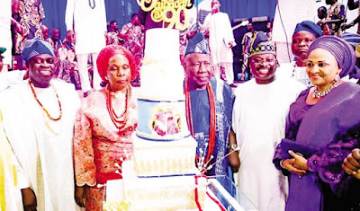 Olubadan Celebrates 90th Birthday, Ibadan Obas Absent (Photos)
