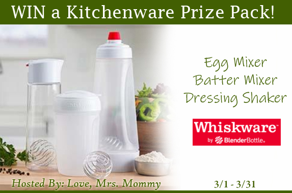Whiskware Kitchenware Prize Pack Giveaway