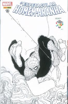 Homem-Aranha por Luciano Salles