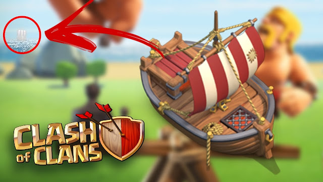 Barco do Clash of Clans