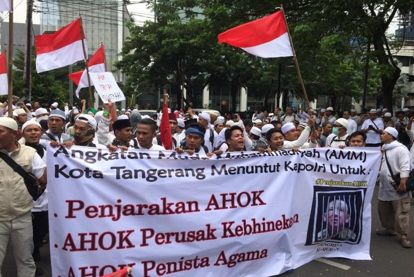 Dinilai Provokatif, Spanduk Peserta Aksi 112 Asal Lampung Disita