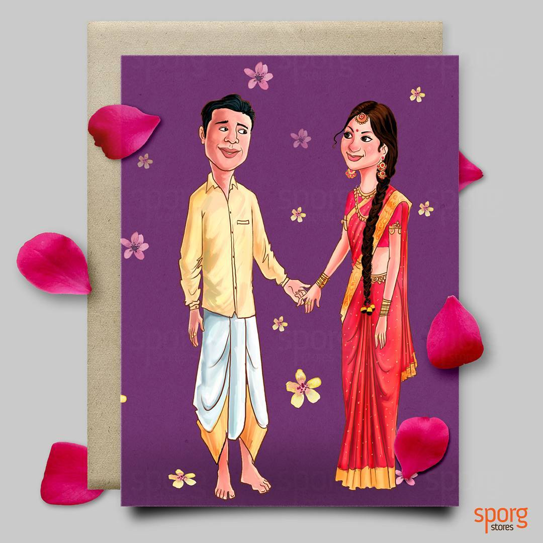 Wedding Invitation Artwork with beautiful invitation layout
