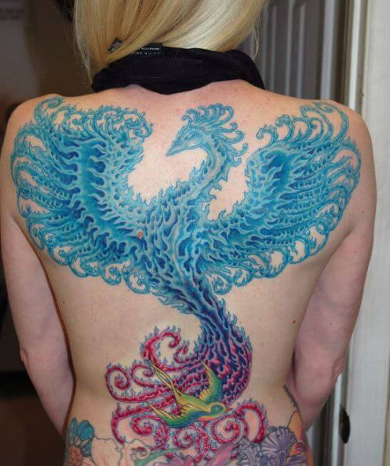 Phoenix rising Tattoo