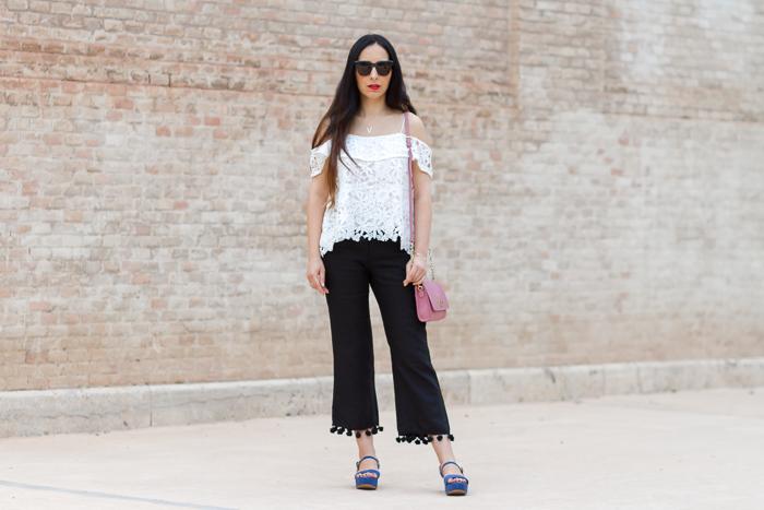 Influencer moda valencia outfit comodo para verano