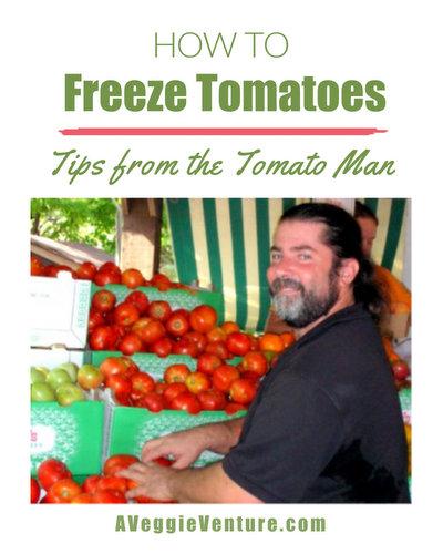 How to Freeze Tomatoes ♥ AVeggieVenture.com