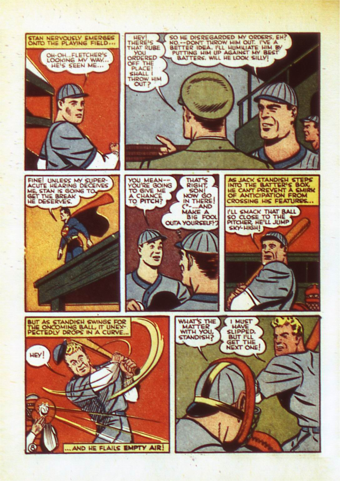 Read online Action Comics (1938) comic -  Issue #50 - 11