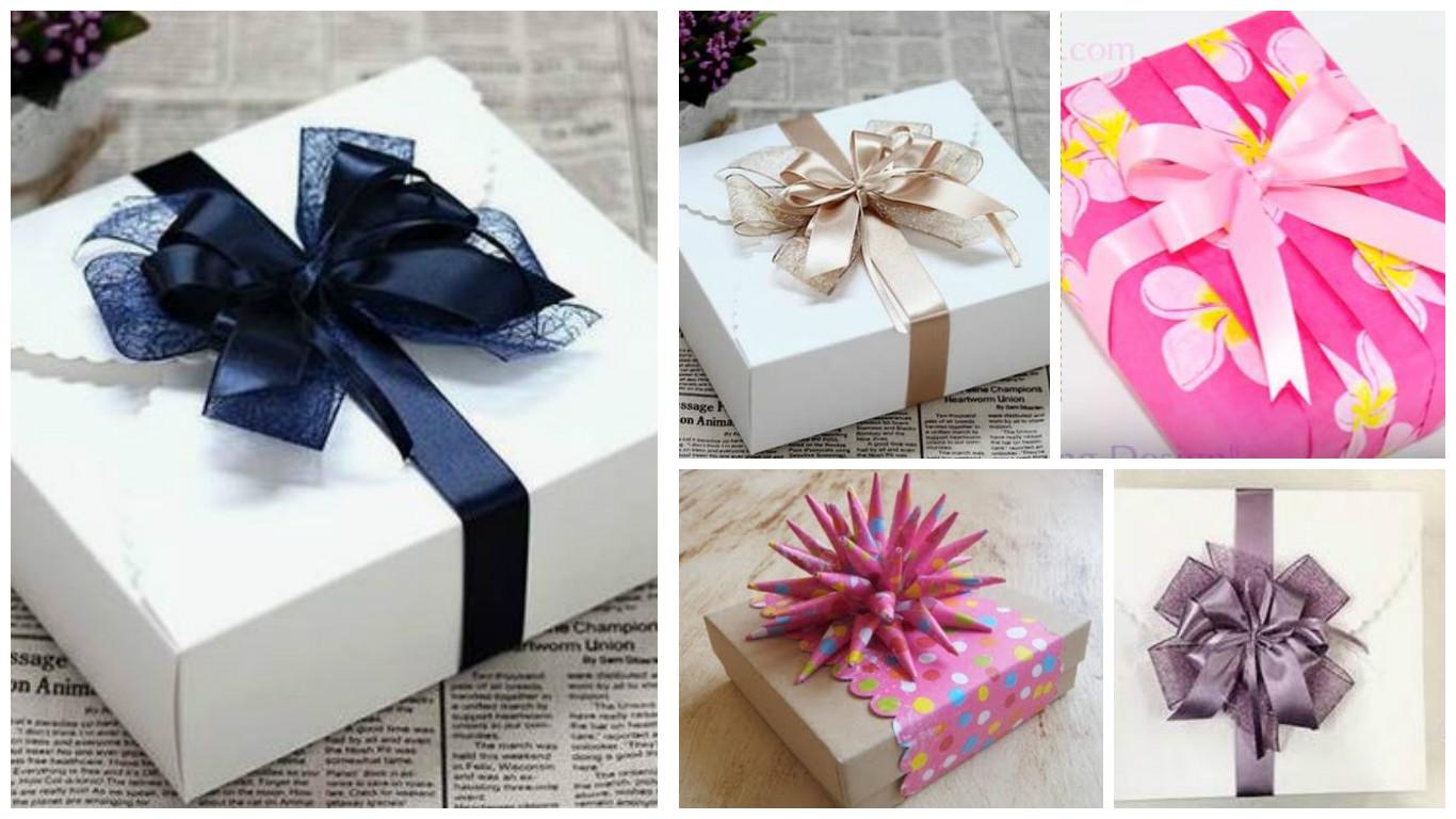F ciles y bonitas t cnicas para hacer envolturas a regalos for Envolturas para regalos