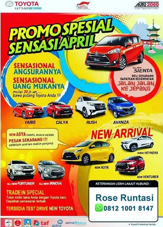 Promo Toyota Alam Sutera Tangerang