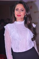 Pragya Jaiswal in lovely Black Mini Skirt and White Transparent Shirt ~  Exclusive 019.JPG