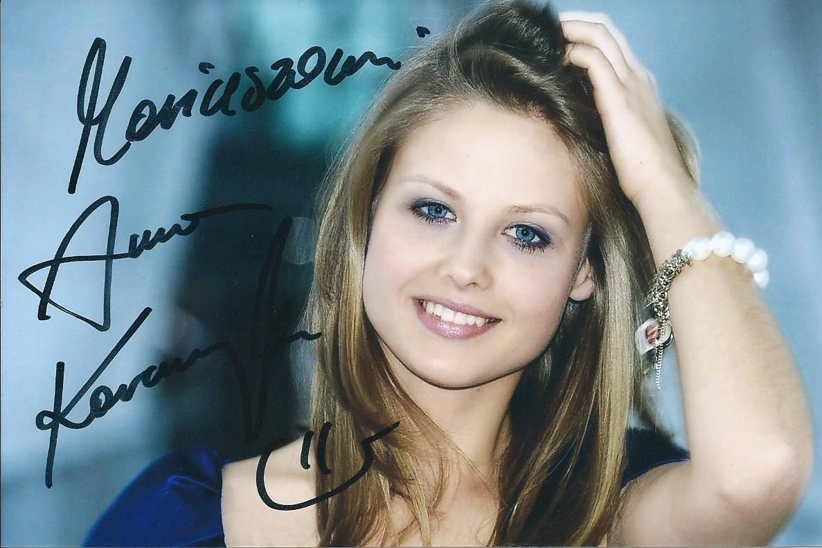 Autografy Mariu: Anna Karczmarczyk
