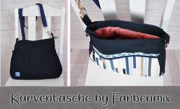 Kurventasche Taschenspieler by Farbenmix