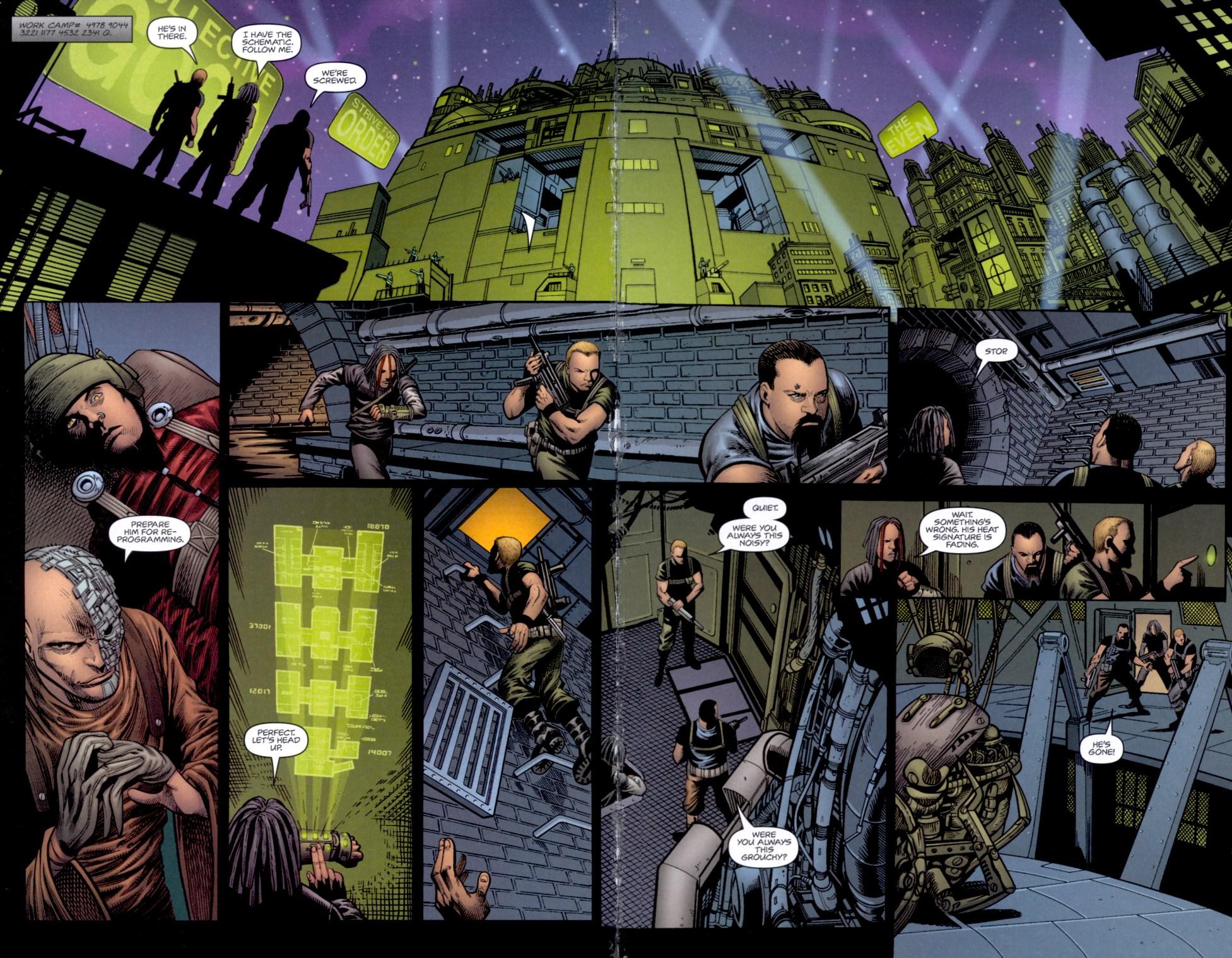 Read online Static-X: Machine comic -  Issue # Full - 15