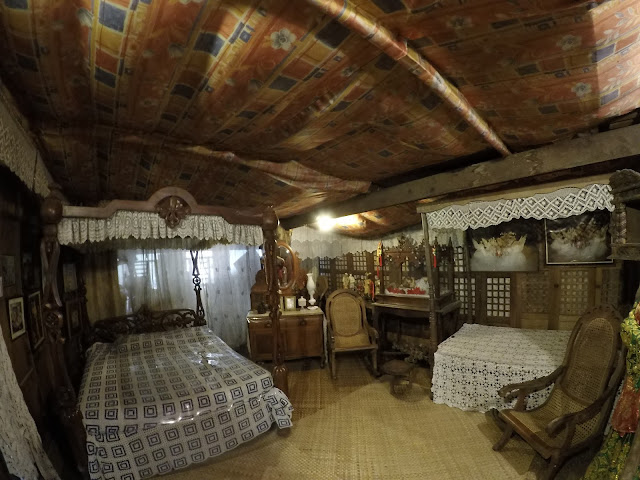 The lone bedroom of the Yap-Sandiego Ancestral House