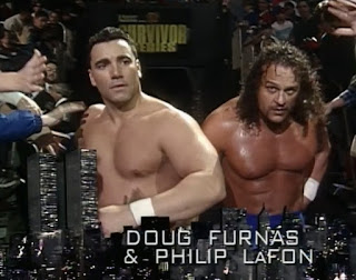 WWF / WWE SURVIVOR SERIES 1996: Doug Furnas and Philip Lafon debuted
