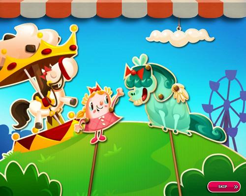 Candy Crush Saga level 2661-2675