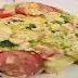 Cheesy Kielbasa Broccoli, And Rice Skillet Recipe