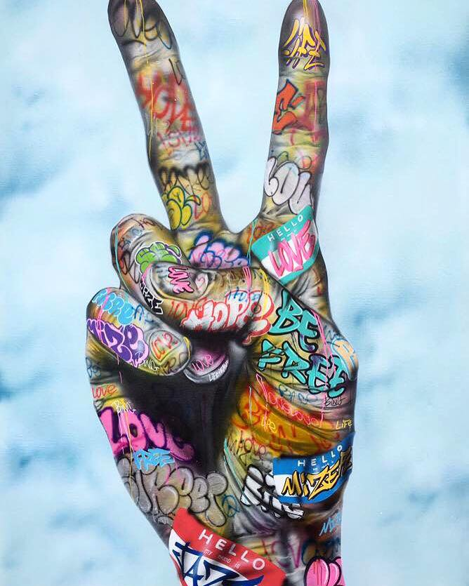 Graffiti Collection Ideas Graffiti Peace Stand Together Love Is