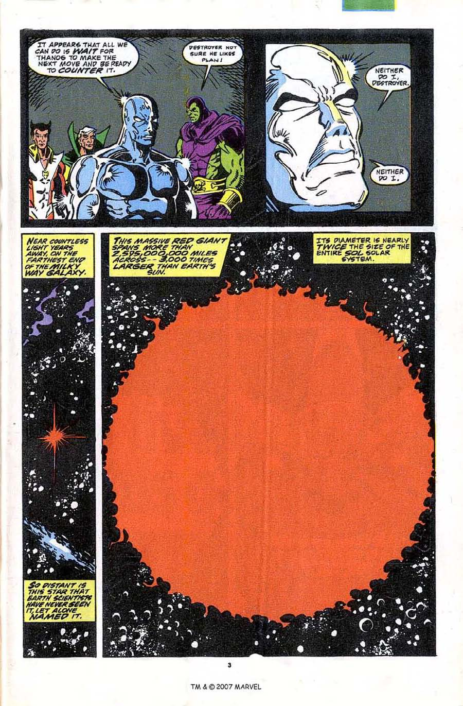 Read online Silver Surfer (1987) comic -  Issue #44 - 5