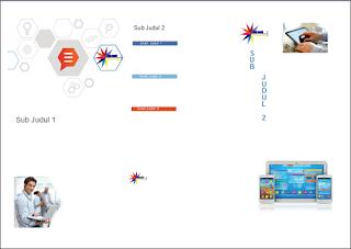 brosur belakang, layout brosur