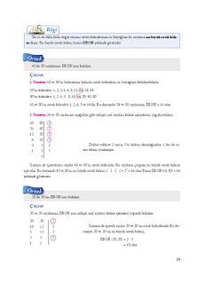 8. Sınıf Matematik Ekoyay Yayınları Sayfa 15