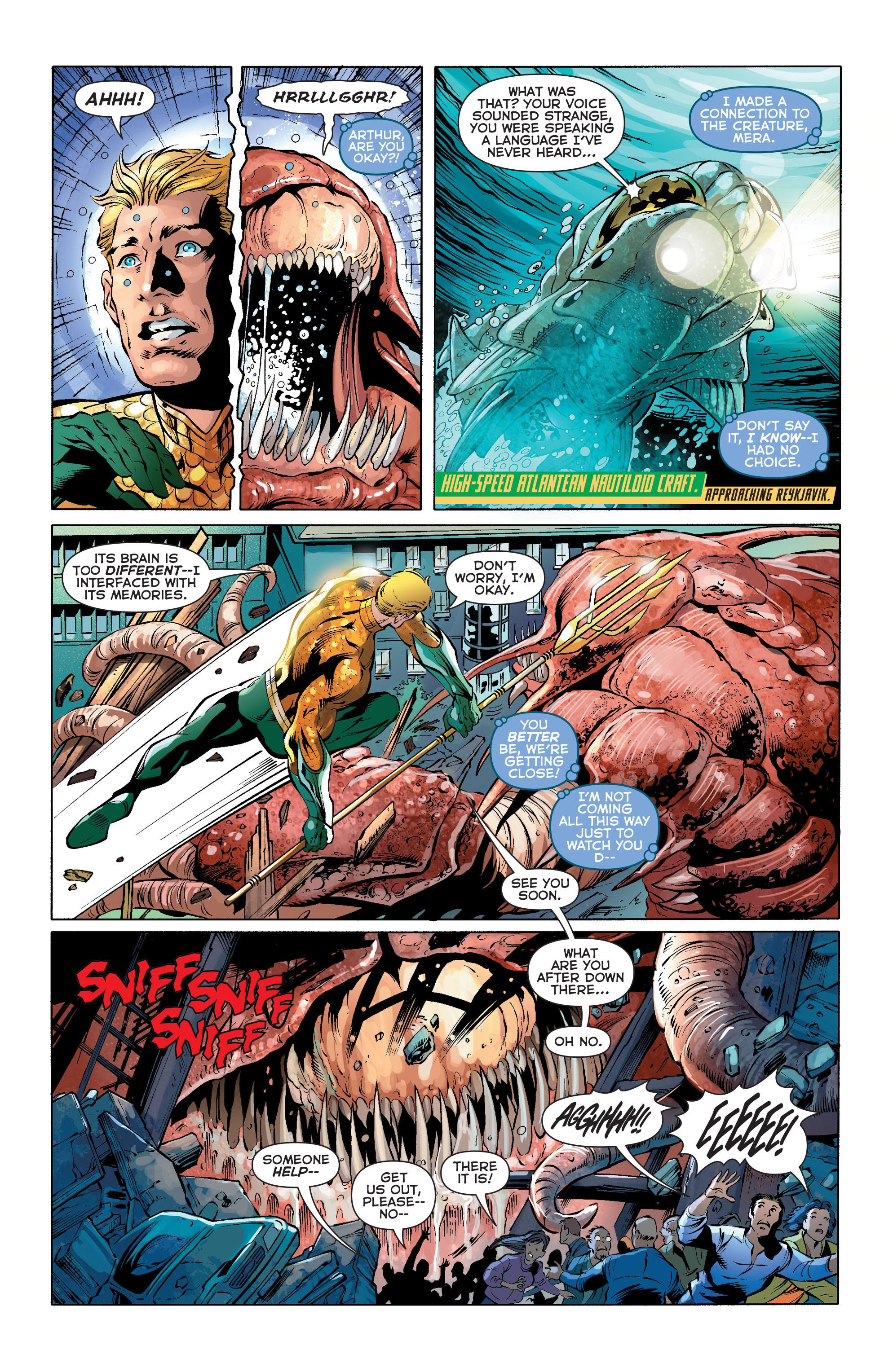 Read online Aquaman (2011) comic -  Issue #27 - 5