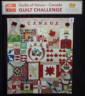 Quilt #3 of the Quilts of Valour Challenge