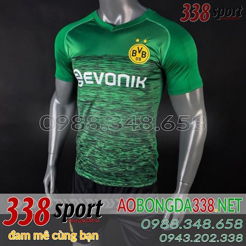 Áo Dortmund Xanh Lá mùa giải 2018 2019 Training 1