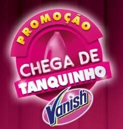 Cadastrar Promoção Vanish Chega de Tanquinho Concorra 10 Lavadoras - Simone e Simaria