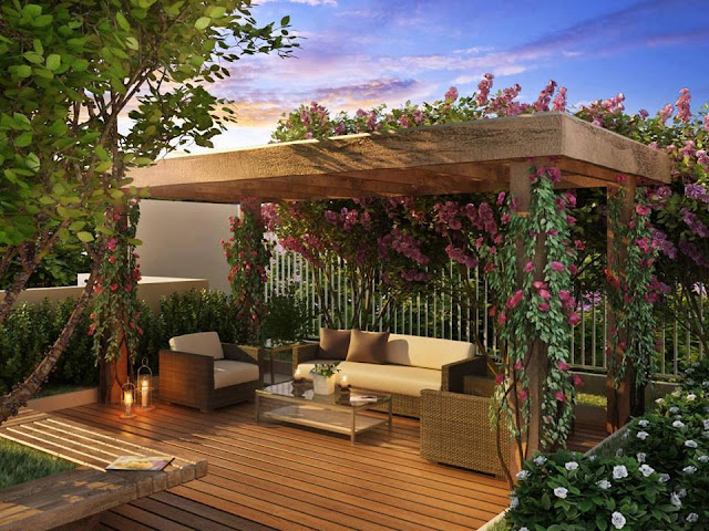 Gorgeous Outdoor Mesmerizing Sitting Areas