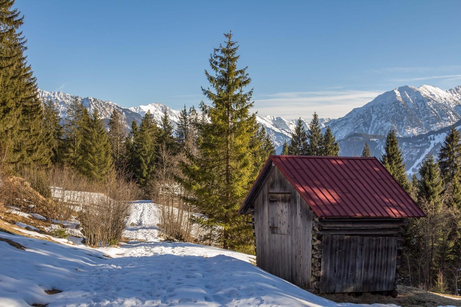 Schneeschuhwanderung Tiefenbacher Eck - Bad Hindelang ...