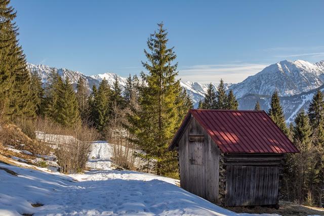 Schneeschuhtour tiefenbacher eck bad hindelang allgäu 17