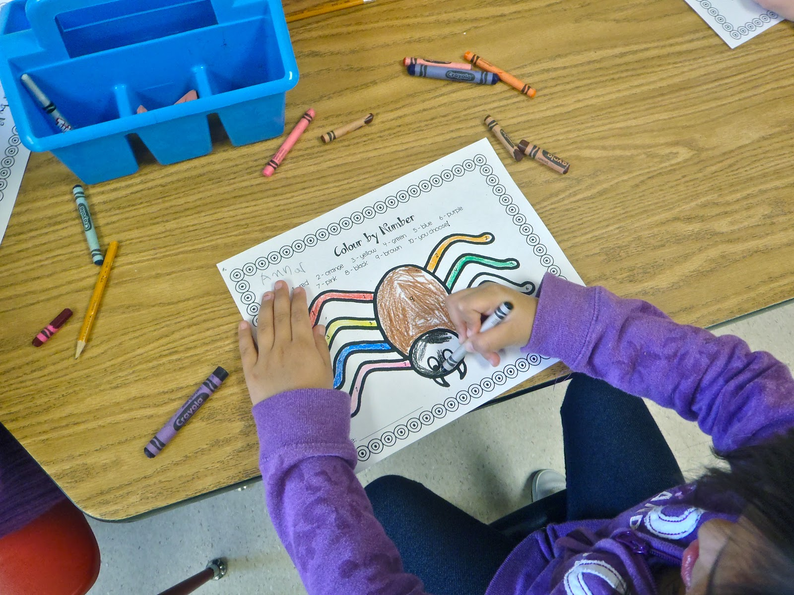 Fun With Firsties Spider Celebration