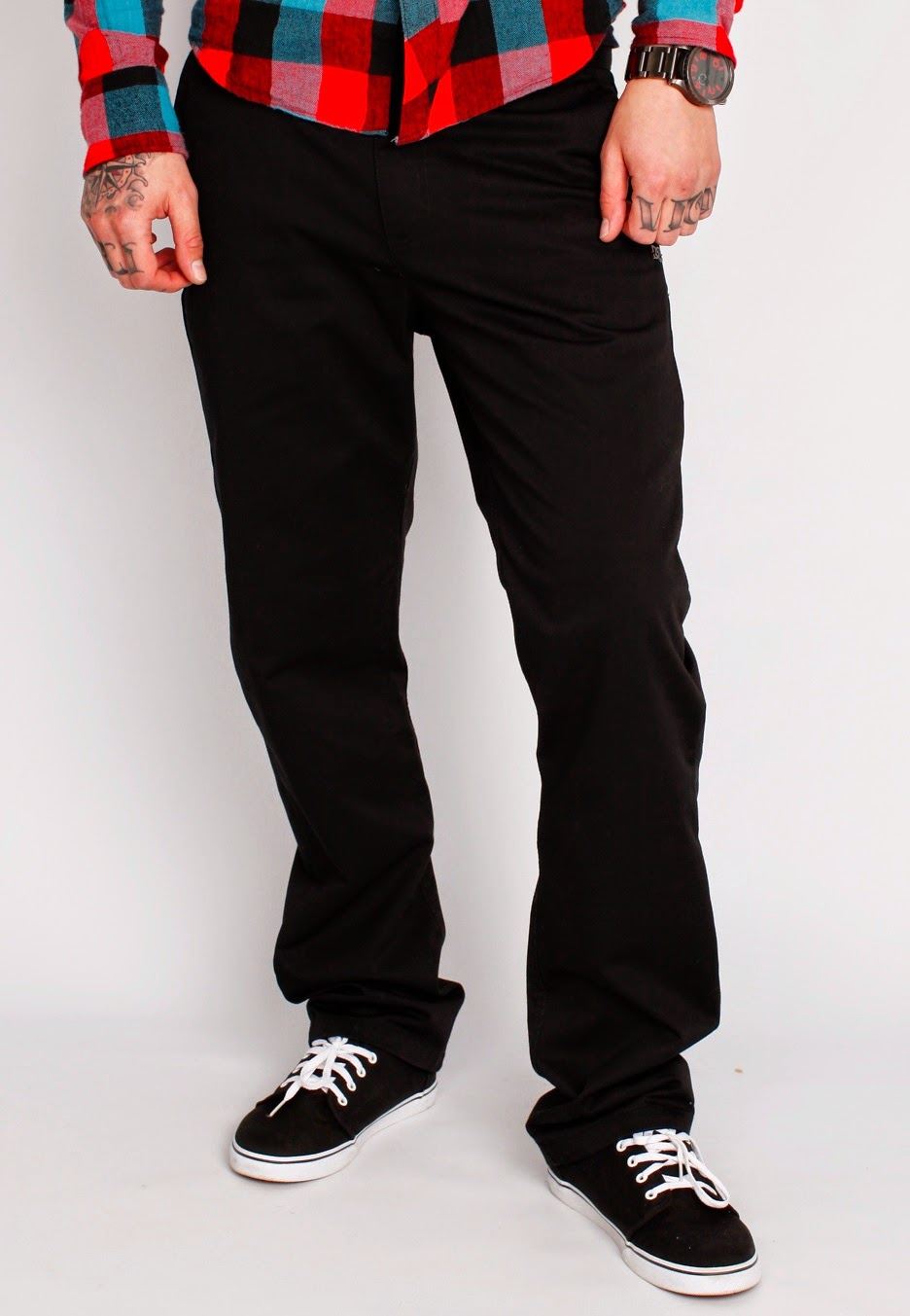 Celana Chino, Celana Jeans, Celana DC, DC Hitam