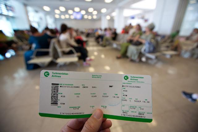 Turkmenistan Airlines Flight Ticket