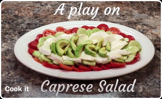 A Play On Caprese Salad Recipe