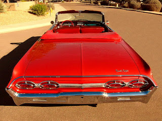 1962 Oldsmobile 98 Luxury Convertible Rear