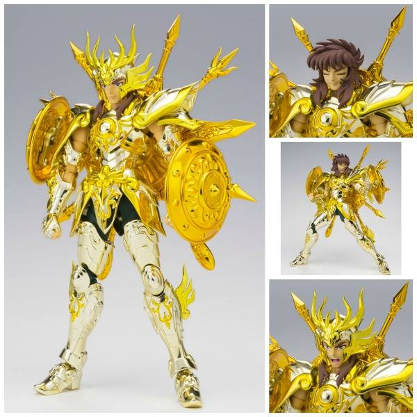LIBRA DOHKO GOD CLOTH FIGURA 17 CM SAINT SEIYA SOUL OF GOLD SAINT CLOTH MYTH EX