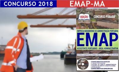 Concurso EMAP 2018 Assistente Portuário