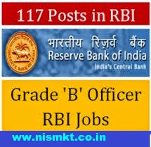 rbi jobs recruitment of officers grade b